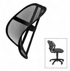 office chair back support. Delighful Office Mesh Lumbar Back Support For Office Chair Cool In E