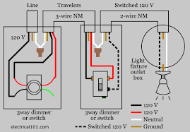 dimmer switch wiring electrical 101 Three Way Switch With Dimmer Wiring Diagram typical 3 way dimmer wiring diagram electrical switches 3 way switch with dimmer wiring diagram