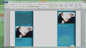 How Do You Make A Brochure On Microsoft Word 2007 How To Make A Brochure On Microsoft Word 2010 Fresh Microsoft
