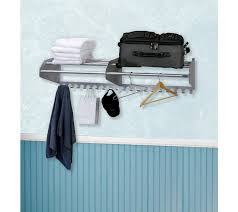 wall mounted coat rack and hooks