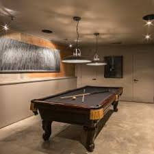 basement pool table. Interesting Basement Modern Basement Game Room With Classic Pool Table For T