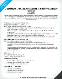 14 Dental Assisting Resume Hospedagemdesites165 Com