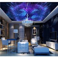 Weaeo Custom Space 3D Ceiling Wallpaper ...