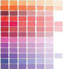 Chromatics Colour Chart Soft Pastels Color Chart At Great American Art Works