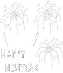 Coloring pages are a great way to introduce kids to celebrations and festivals from around the world. Free Printable New Years Coloring Pages For Kids