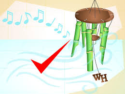 How To Make Wind Chimes How To Make A Bamboo Wind Chime With Pictures Wikihow