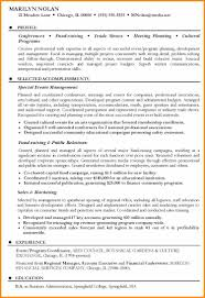 8 Event Planner Resume Sample Cote Divoire Tennis