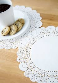 Amazon.com: Fox Run 7373 Paper Lace Doilies, 10-Inch, Pack of 12: Cookie  Cutters: Kitchen & Dining