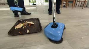 easge lightweight hard floor sweeper on qvc