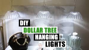 Push Lights Dollar General Diy Dollar Tree Hanging Lights Dollar Store Diy Pendant Lighting Diy Glam Decor