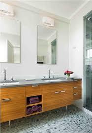 modern bathroom vanity ideas. Fabulous Mid Century Modern Bathroom With Textured Floor Tiles Using In Vanity Decor 15 Ideas E