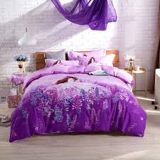 purple teen bedding