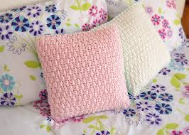 Free Crochet Pillow Patterns Adorable Free Pillow Cover Crochet Pattern Leelee Knits
