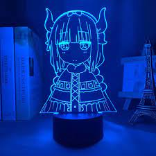 Đèn Led 3d Hình Anime Trang Trí