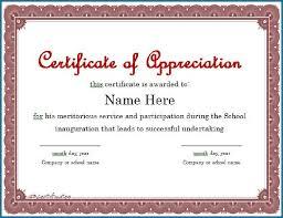 Editable Certificate Of Appreciation Template 231