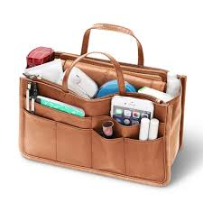 the lightweight leather handbag insert2