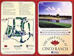 GC at Cinco Ranch - Actual Scorecard | Course Database