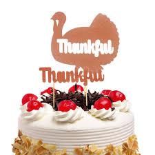 <b>20pc Cake Toppers Flags</b> Thanksgiving Day Turkey Kids Birthday ...