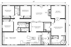 3 Simple Tips To Make 16x80 Mobile Home Floor Plans  Bee Home Floor Plan Homes