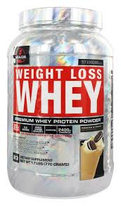 image sports weight loss whey premium whey protein powder cookies n cream 1 72 lbs at luckyvitamin