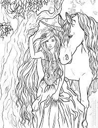 Coloring_selinafenech_enchanted Jpg 2585 3371 Fantasy