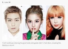 celebs 7 seulgi dara and chanyeol 9 lee hi bom t o p allkpop article 2016 02 10 idols deemed the love child of other celebs s