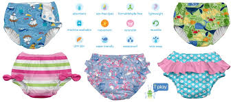 I Play Swim Diapers Kids Swimwear Ftw