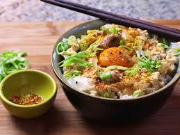 Egg rice hot bowl asian