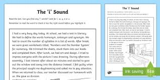 These free worksheets are printable and designed to accommodate any lesson plan for reading that includes. Northern Ireland Linguistic Phonics Stage 5 And 6 Phase 4b I Sound Text