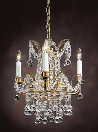 acedo small crystal chandelier 3 light by decorative crafts 15 w x 16 h