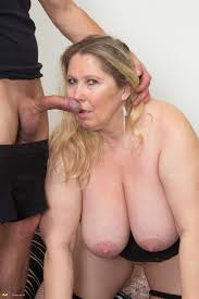 Big tits old women