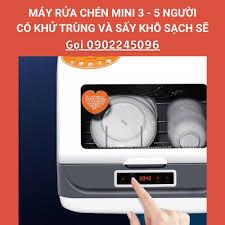 Máy rửa chén mini cho người độc thân và gia đình nhỏ 2 - 5 người máy rửa bát  khử trùng sấy khô Festir tại Hà Nội