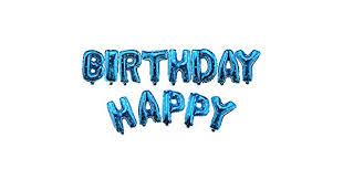 "<b>13Pcs</b> 16"" <b>Happy Birthday</b> Letters Foil <b>Balloon</b> Set Parties ..."