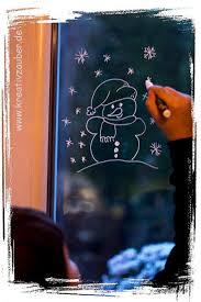 Winterfenster Schneemann Kreativzauber Bastelblog Mit