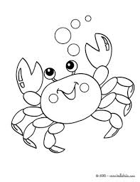 Small Picture Kawaii crab coloring pages Hellokidscom