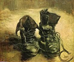 best vincent van gogh gemalde images painted   a `pair` von schuhe ol auf leinwand von vincent van gogh