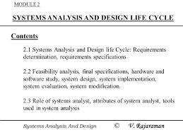 Systems Analysis And Design Life Cycle Ppt Video Online Download