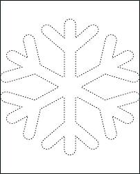 Free Snowflake Printables Printable Snowflakes Free