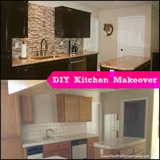 Diy Kitchen Cabinet Refinishing Diy Complete Kitchen Makeover Step By Step Instructions On
