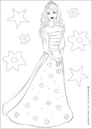 Barbie Doll Coloring Pages Barbie The Star Coloring Home