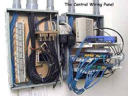 structured wiring how to wire your own home network video and this web page will describe the network that i installed in my new home as it was being built a focus on the how to aspect