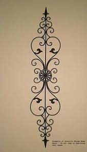 >tuscan wrought iron wall decor can be hung vertically or  tuscan wrought iron wall decor can be hung vertically or horizontally place over a window or door or hang it on a narrow wall