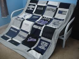 Alex Haralson: T-Shirt Quilt - How to Make Your Own & Do you have a ton of t-shirts that you want to turn into a memory quilt?  Here's how I made mine. Adamdwight.com
