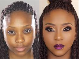 bare to glam total makeover makeup transformation 5 poised by suliat