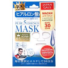 JAPAN GALS Pure5 Essence <b>Маска</b> с <b>гиалуроновой</b> кислотой 30 шт
