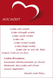 Beispiele Für Hochzeitskarten Mit Gedicht