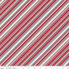 Red & Gray Stripe Quilt Fabric, Riley Blake Play Ball 2 C5136 Red ... & Red & Gray Stripe Quilt Fabric, Riley Blake Play Ball 2 C5136 Red, Lori  Whitlock, Bias Stripe Fabric, Diagonal, Cotton from AnnadaisysFabrics on  Etsy Studio Adamdwight.com
