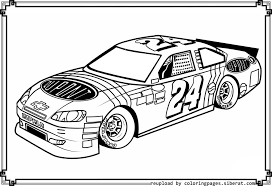 Small Picture Nascar coloring pages to download and print for free