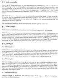 Arbeitsvertrag paragraph