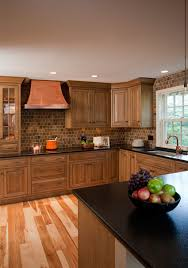 rustic kitchens designs. Wonderful Designs Quarter Sawn White Oak Inset Cabinets And Hickory Hardwood Flooring With A  Natural Finish Are Displayed In This Rustic Fort Washington PA Kitchen Intended Rustic Kitchens Designs